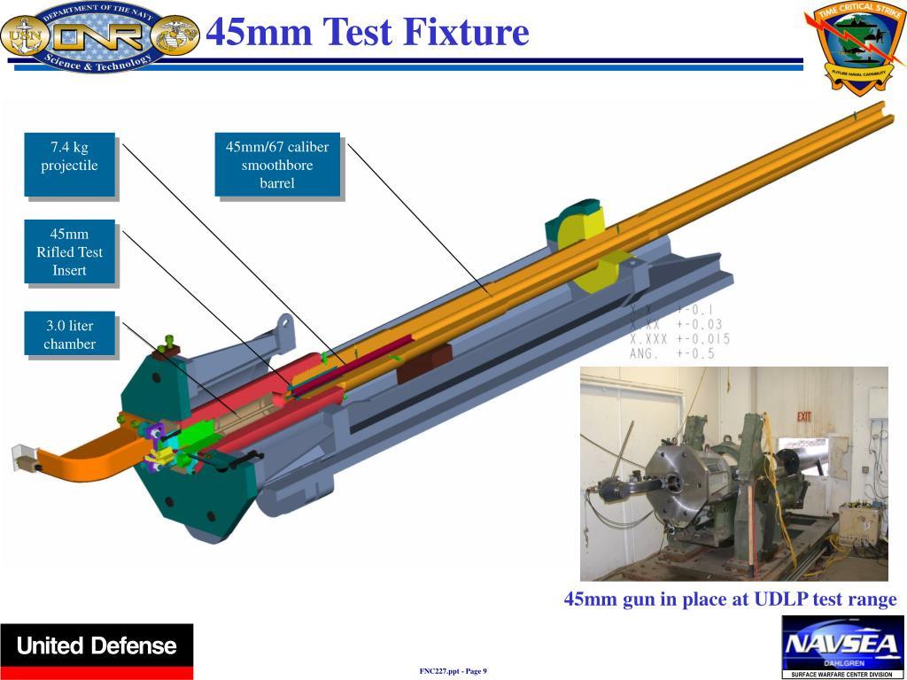 45mm Test Fixture