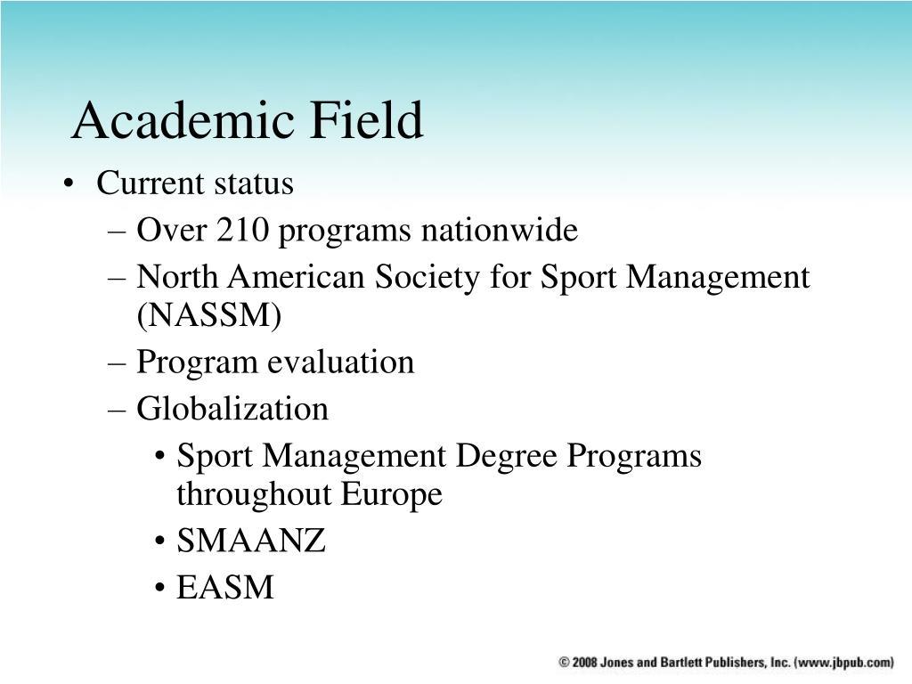 Academic Field
