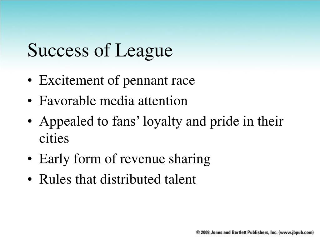Success of League