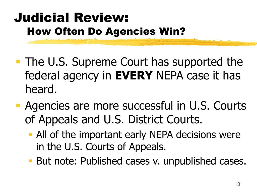 Judicial Review:
