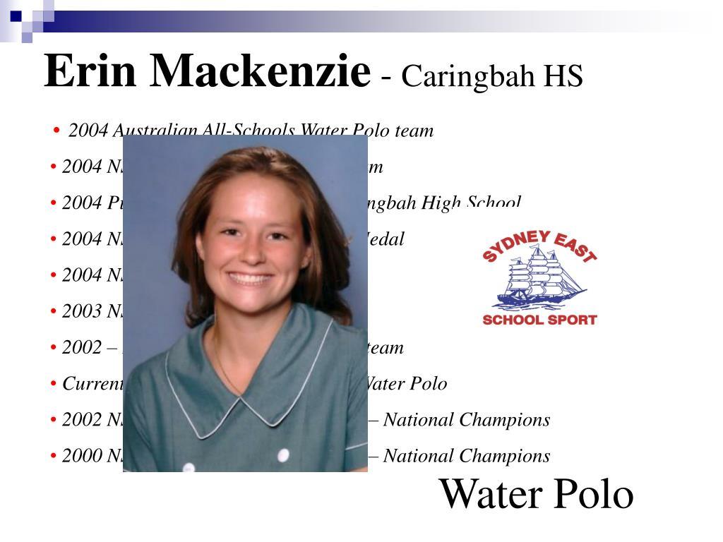 Erin Mackenzie