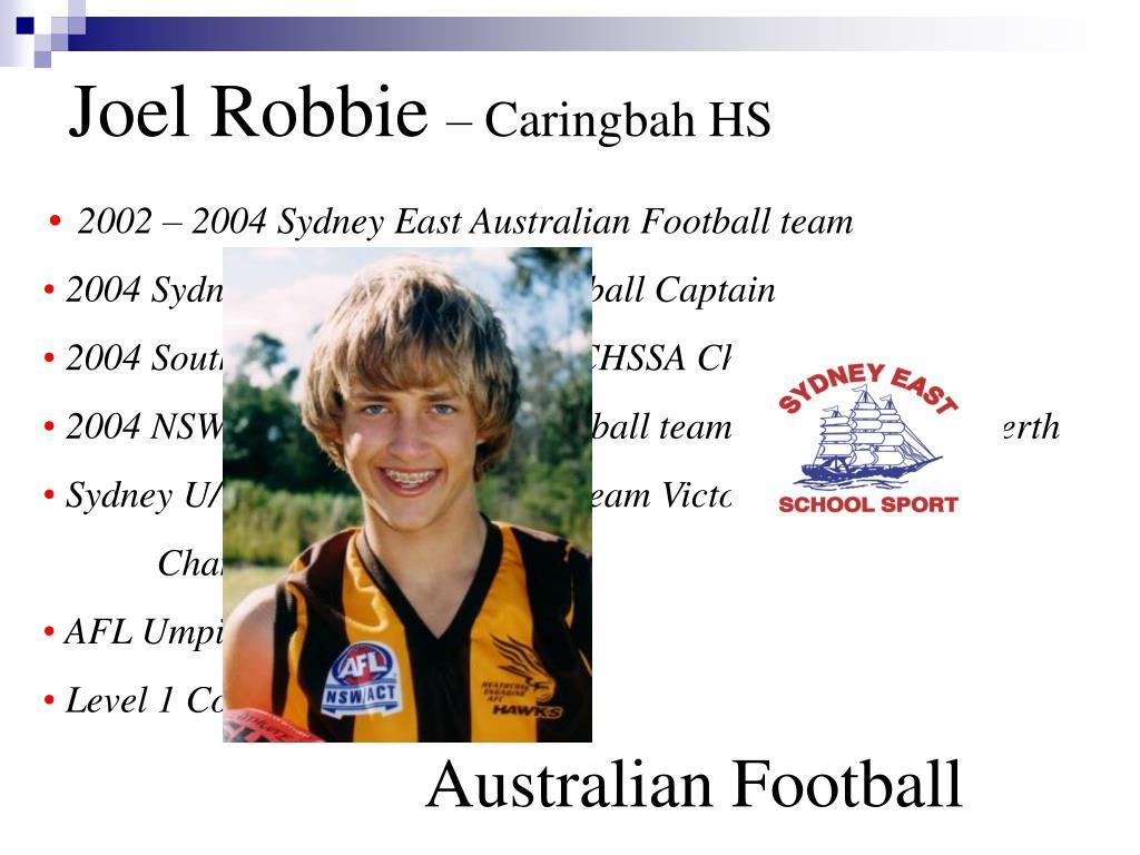 Joel Robbie