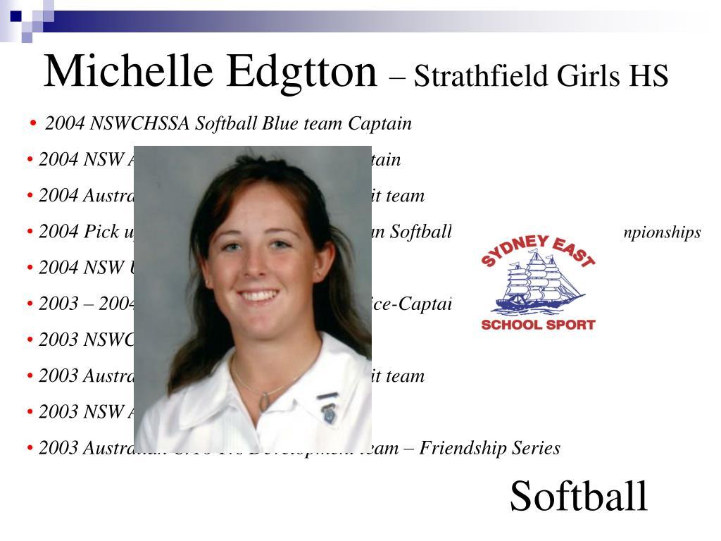 Michelle Edgtton