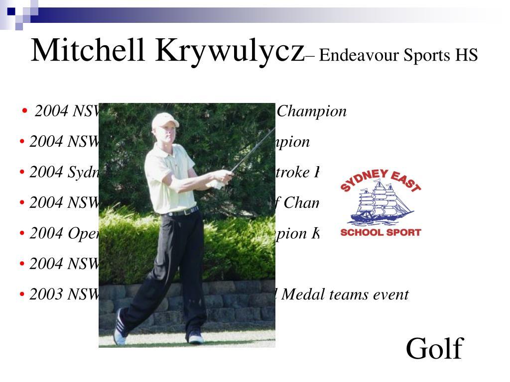 Mitchell Krywulycz