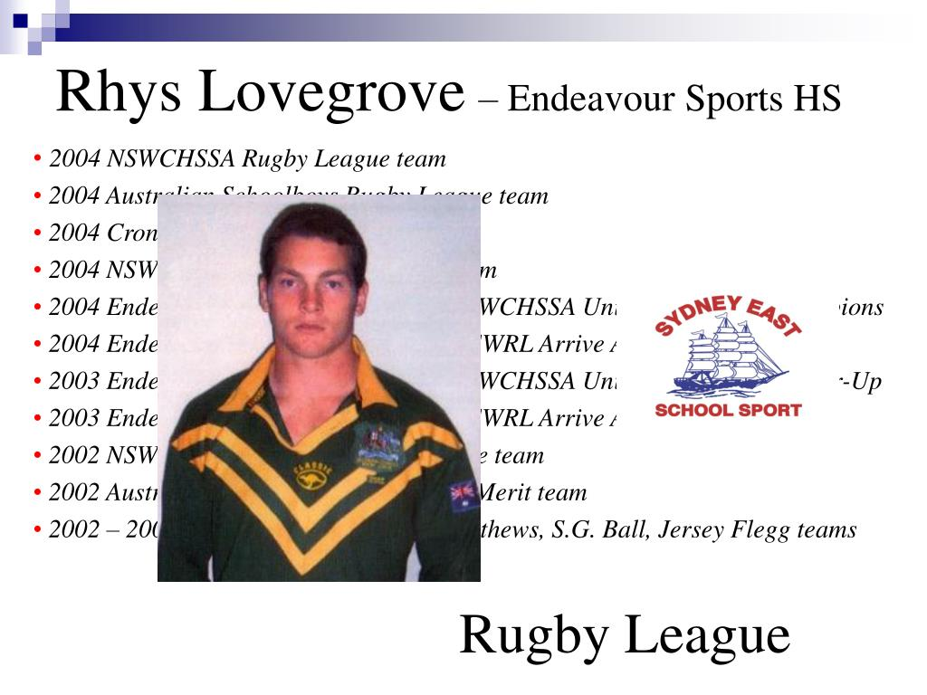 Rhys Lovegrove