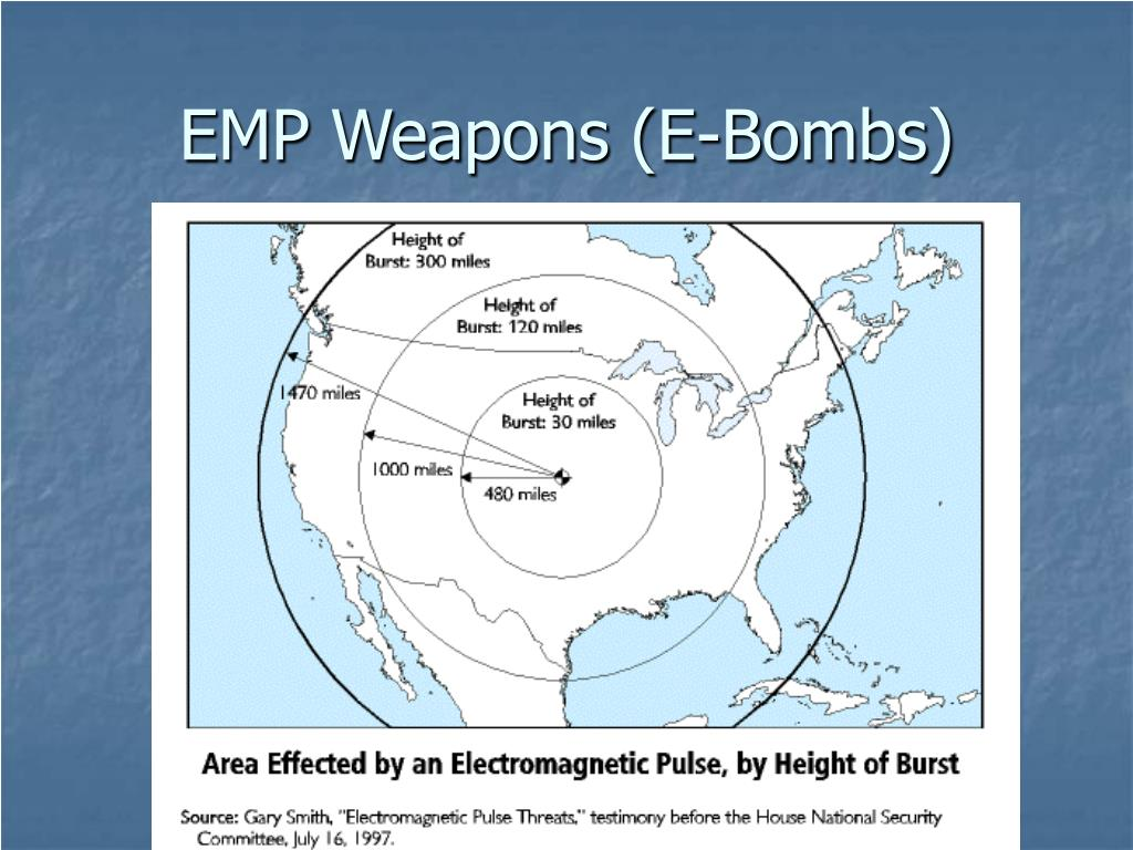 EMP Weapons (E-Bombs)
