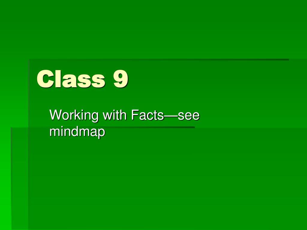 Class 9