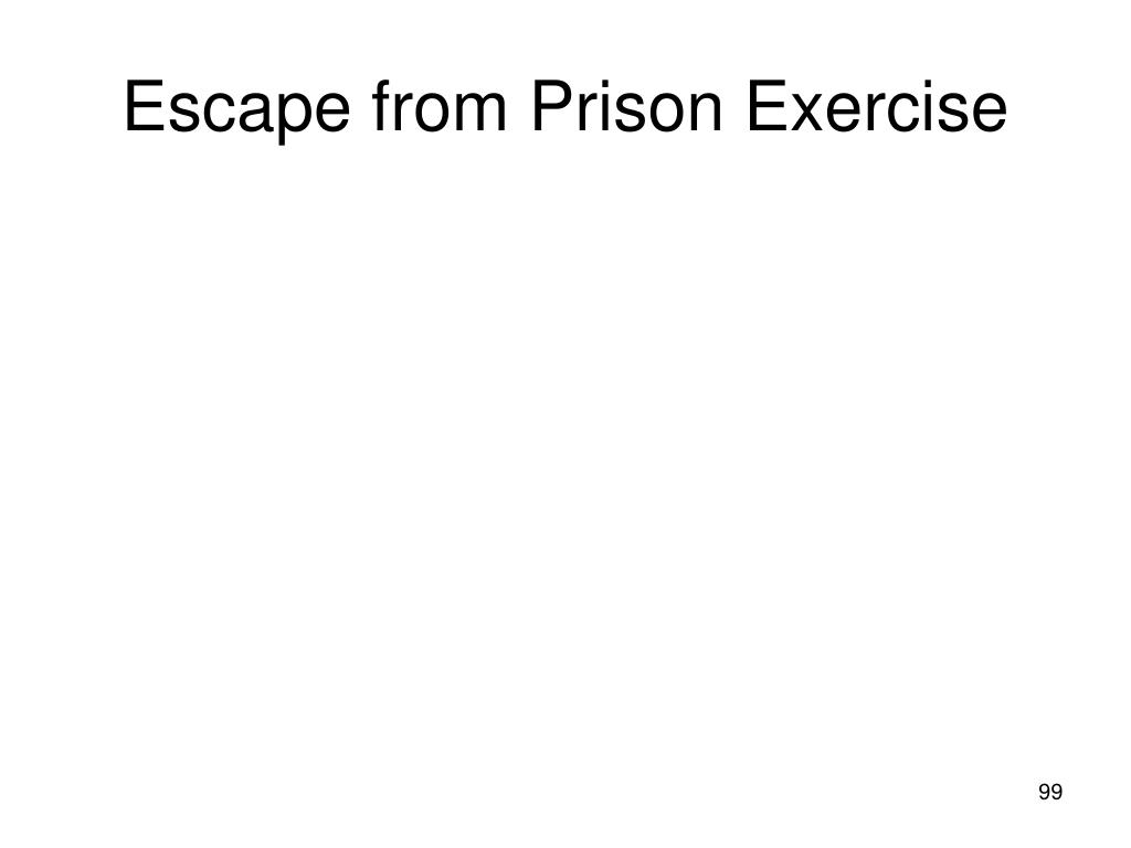Escape from Prison Exercise