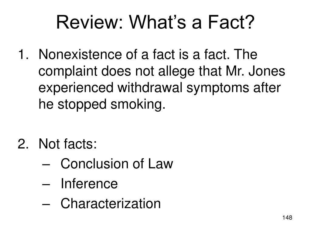 Review: What's a Fact?