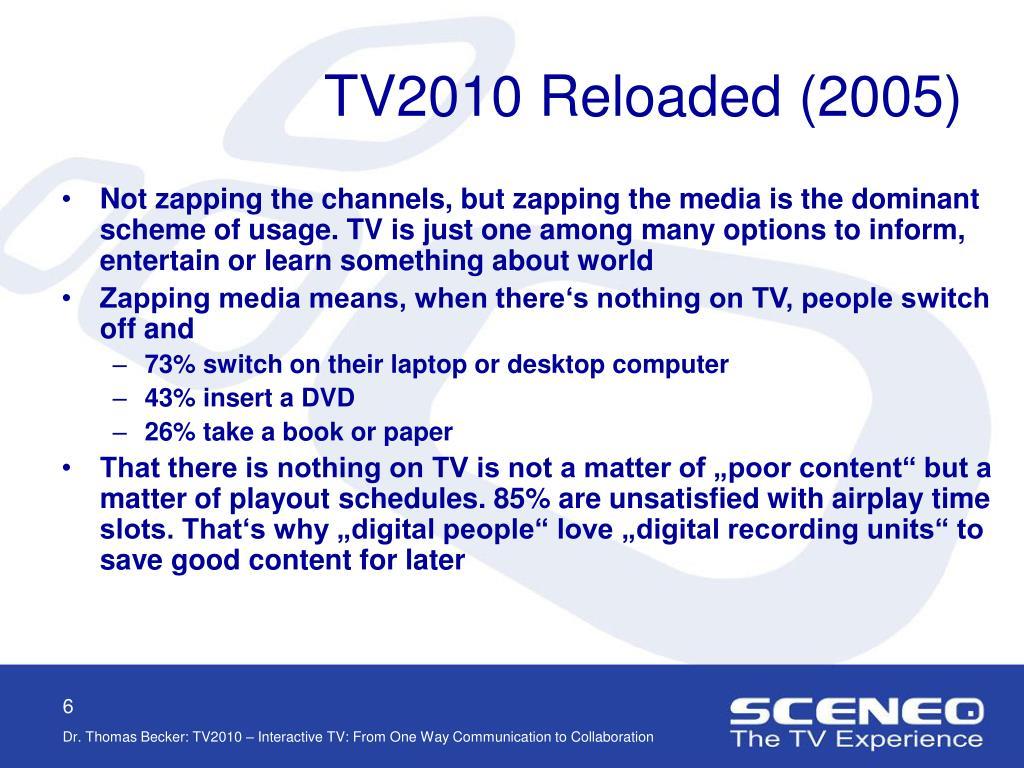 TV2010 Reloaded (2005)