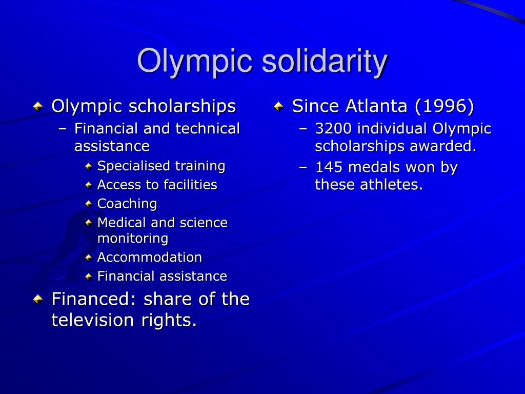 Olympic scholarships