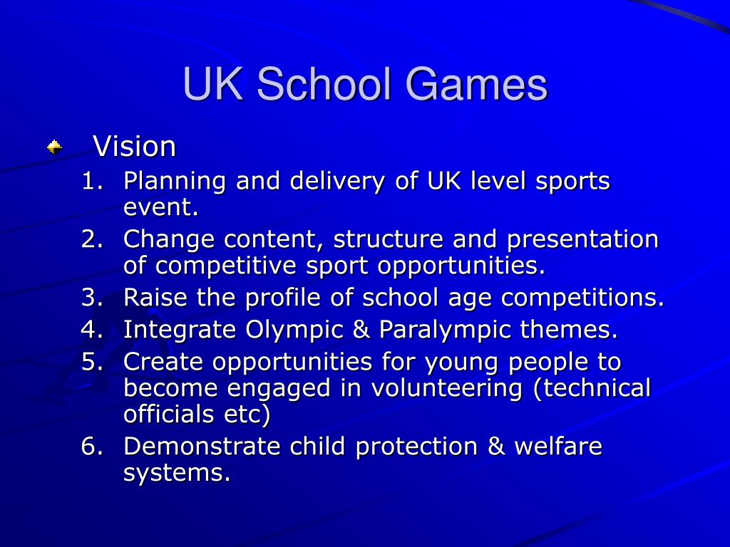UK School Games