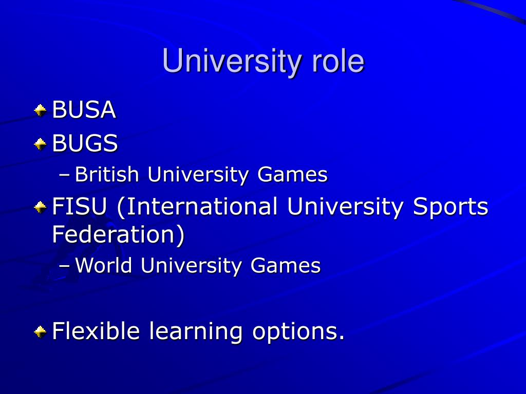 University role