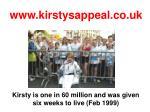www kirstysappeal co uk18