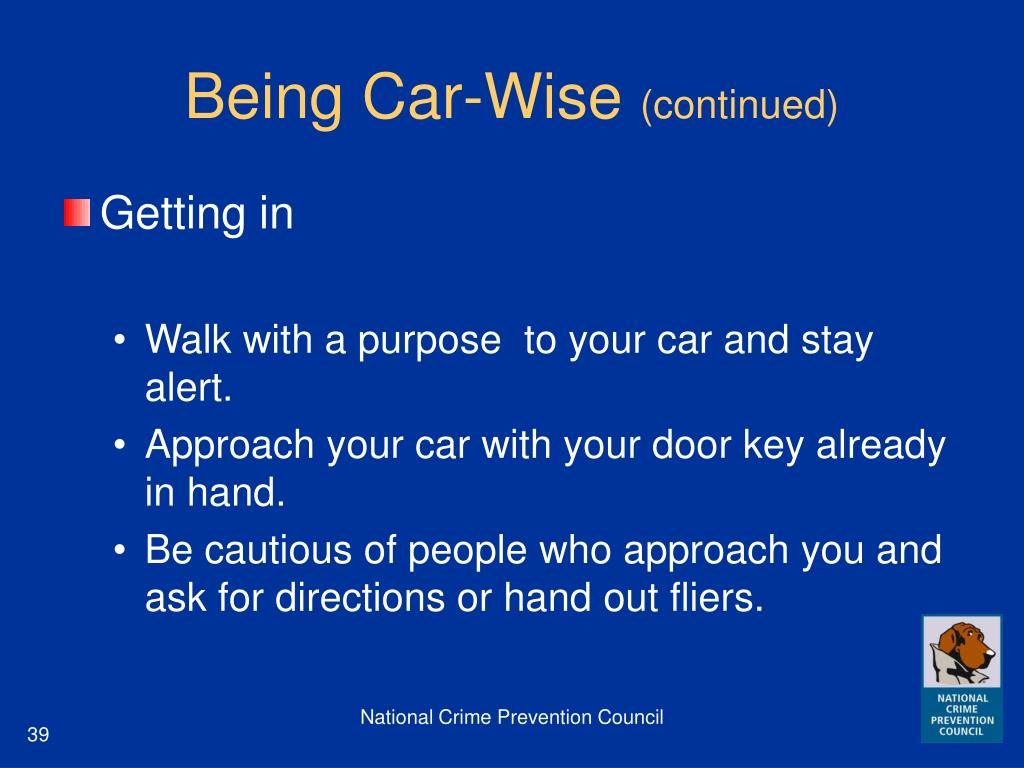 Being Car-Wise