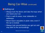 being car wise continued42