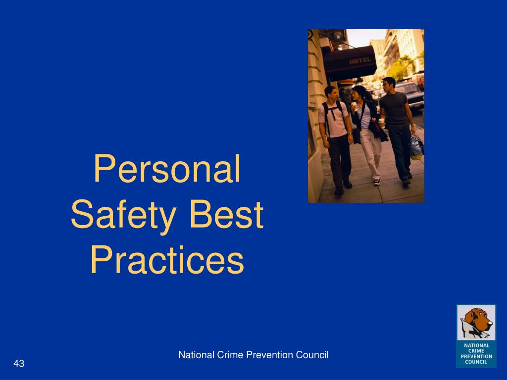 Personal Safety Best Practices