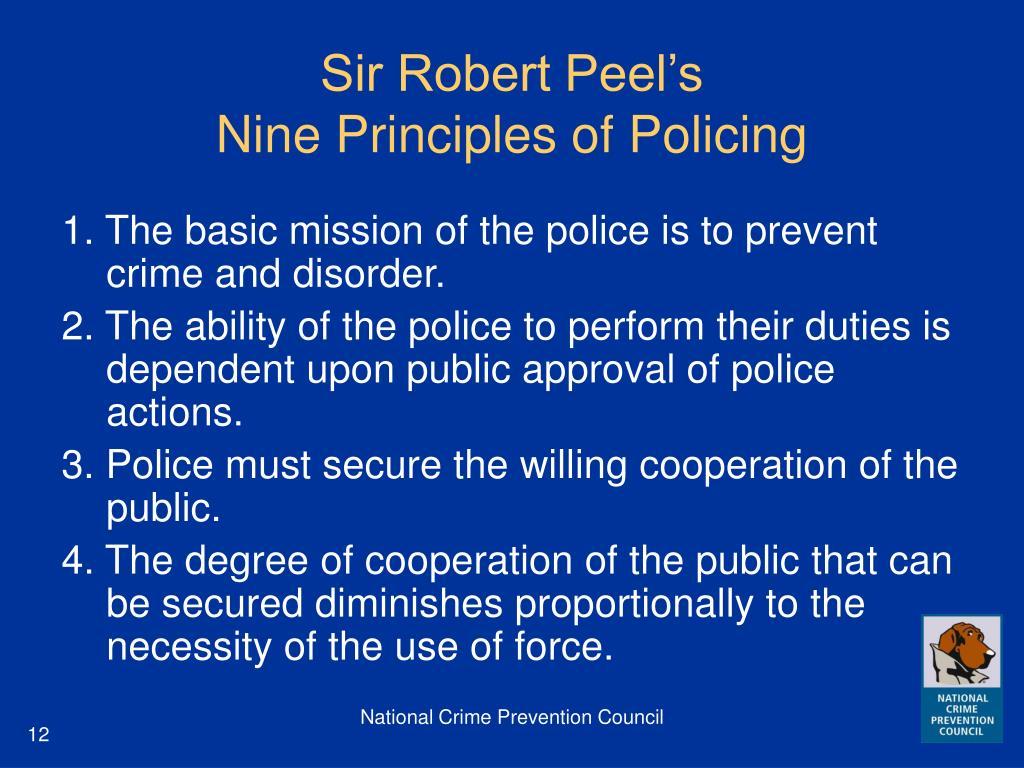 Sir Robert Peel's