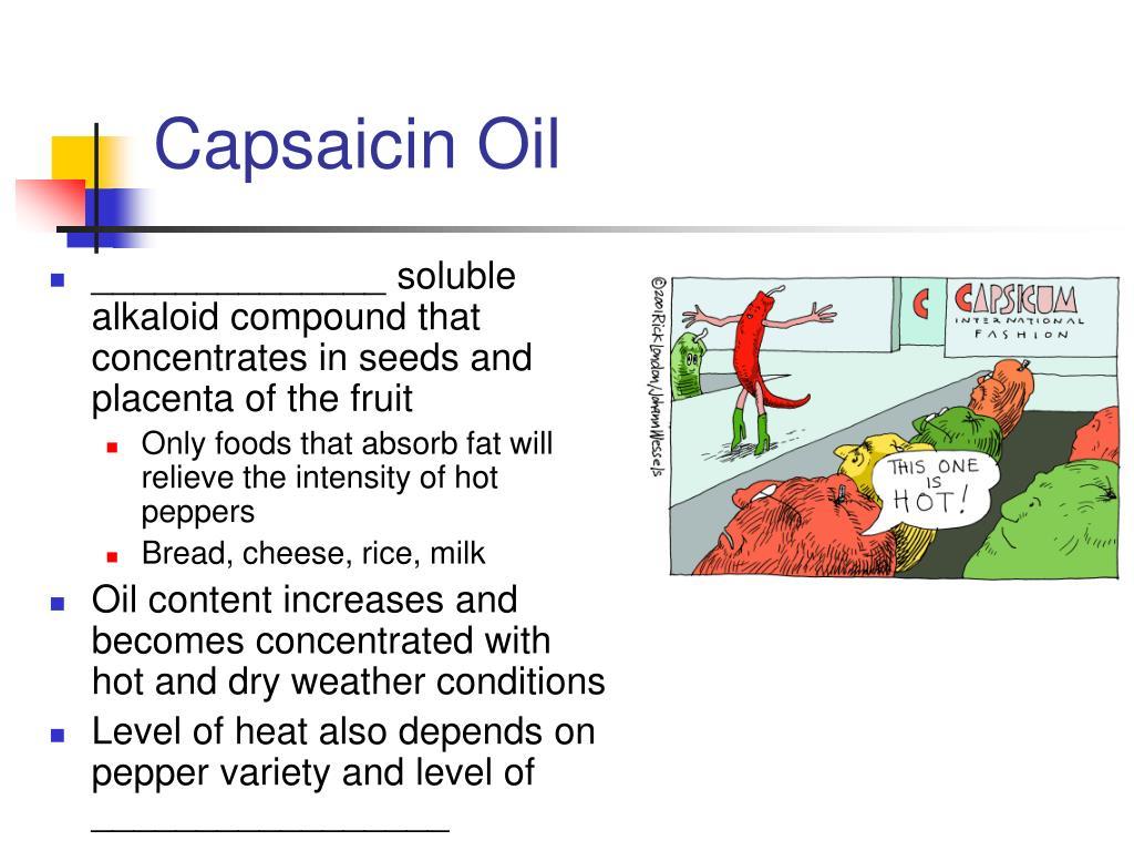 Capsaicin Oil