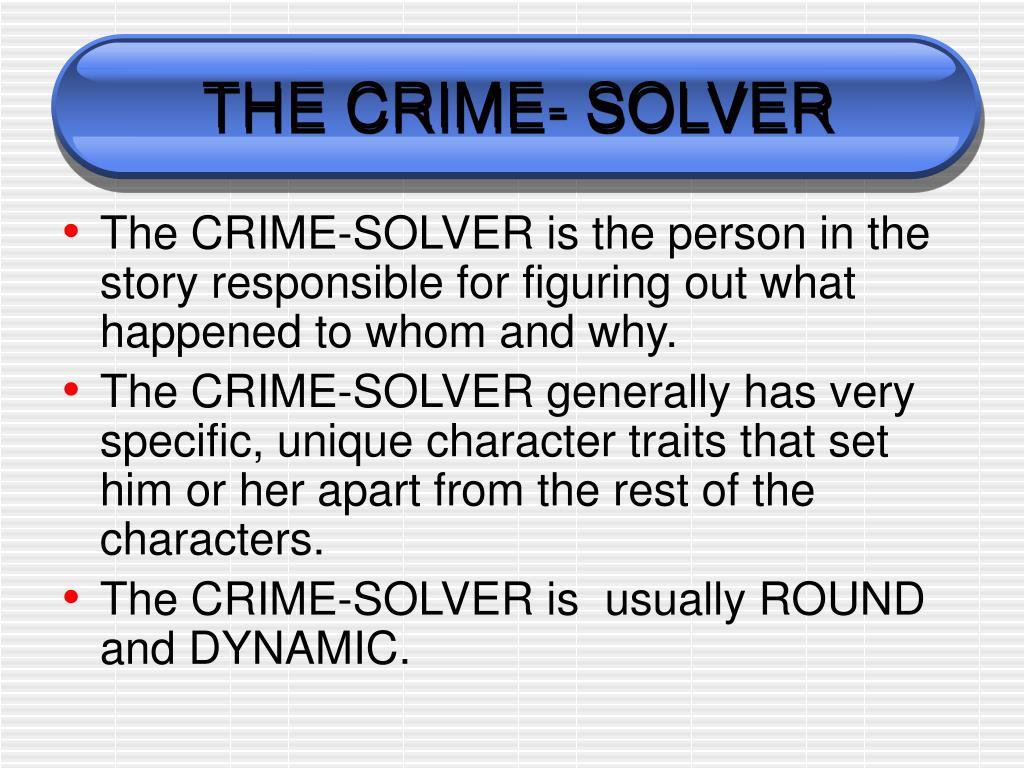 THE CRIME-