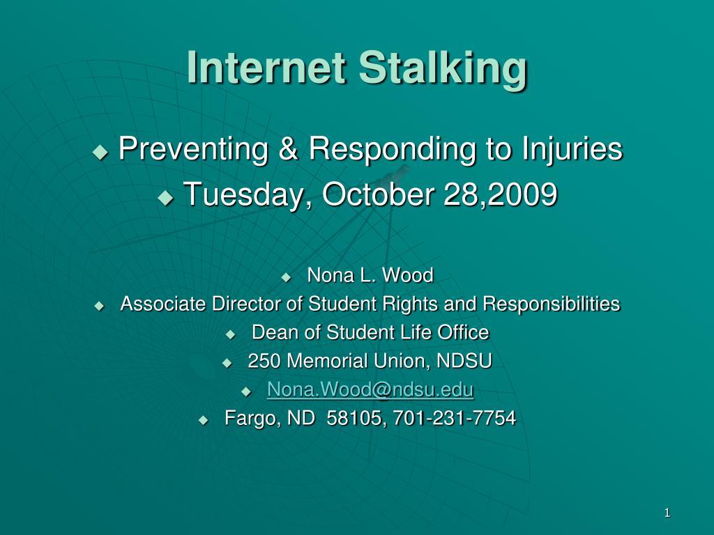 Internet Stalking