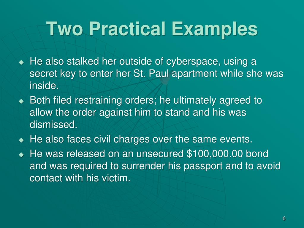 Two Practical Examples