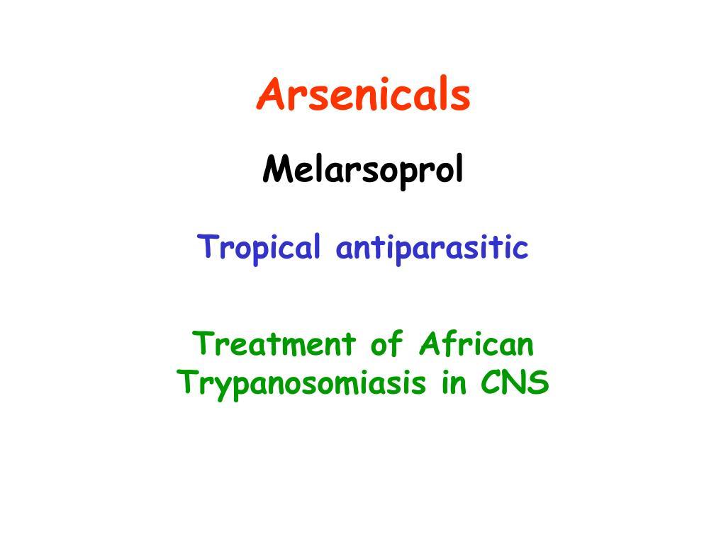 Arsenicals