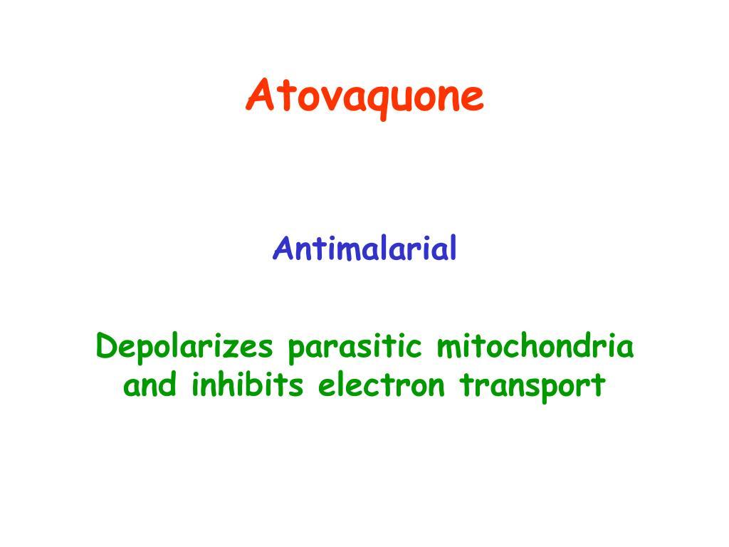 Atovaquone