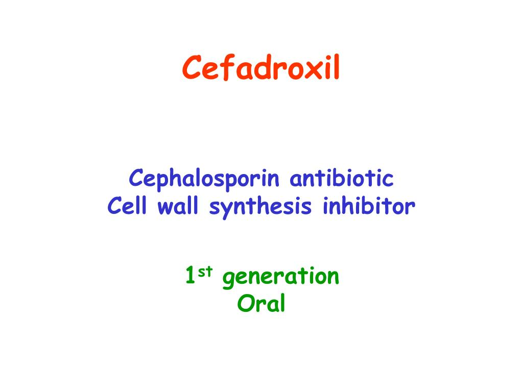 Cefadroxil