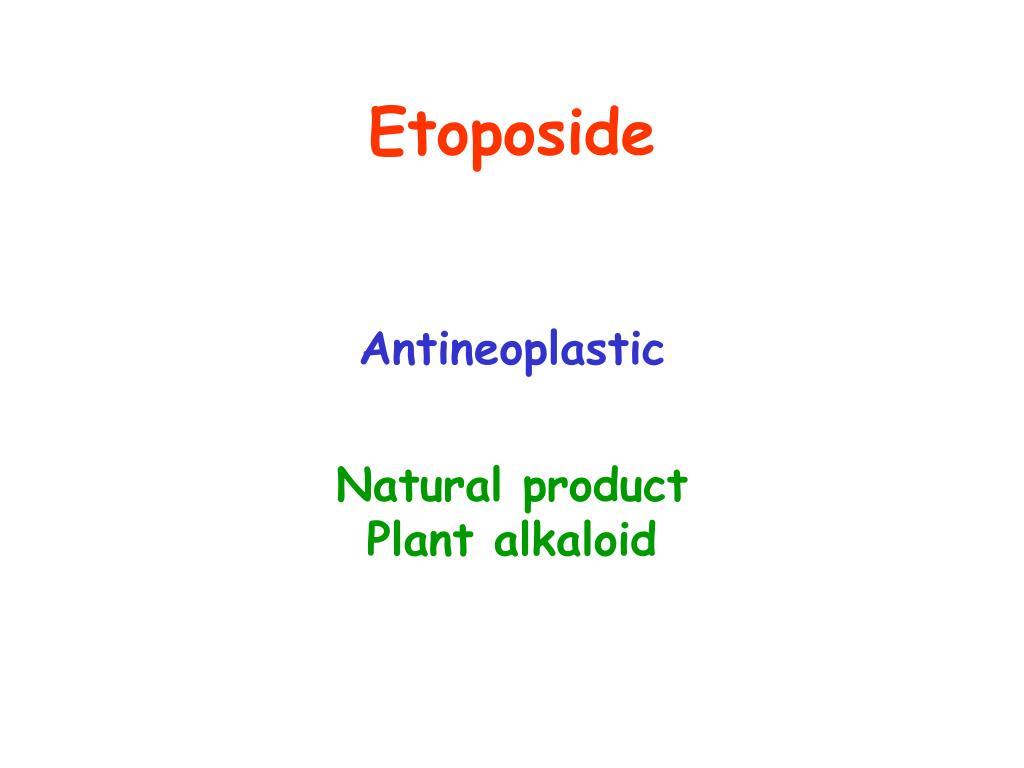 Etoposide