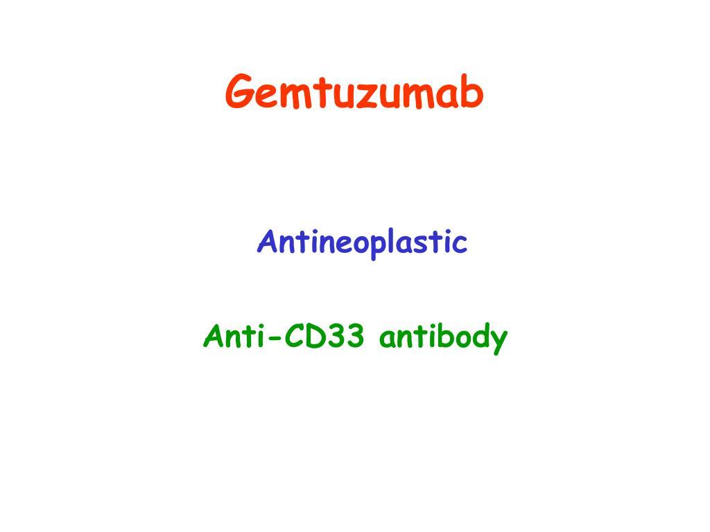 Gemtuzumab