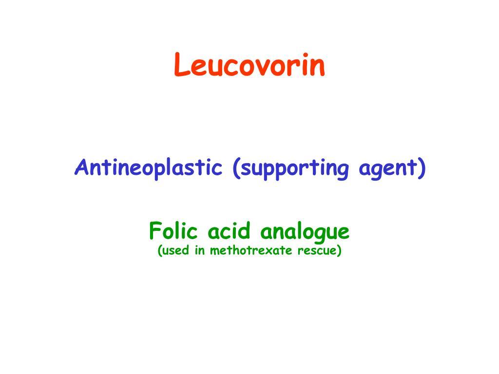 Leucovorin