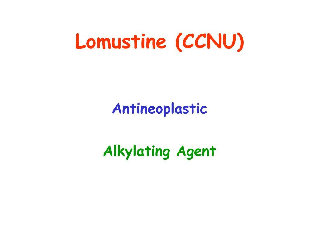 Lomustine (CCNU)