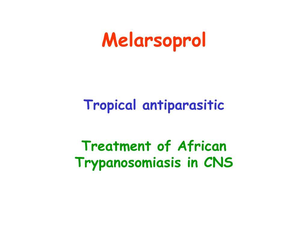 Melarsoprol
