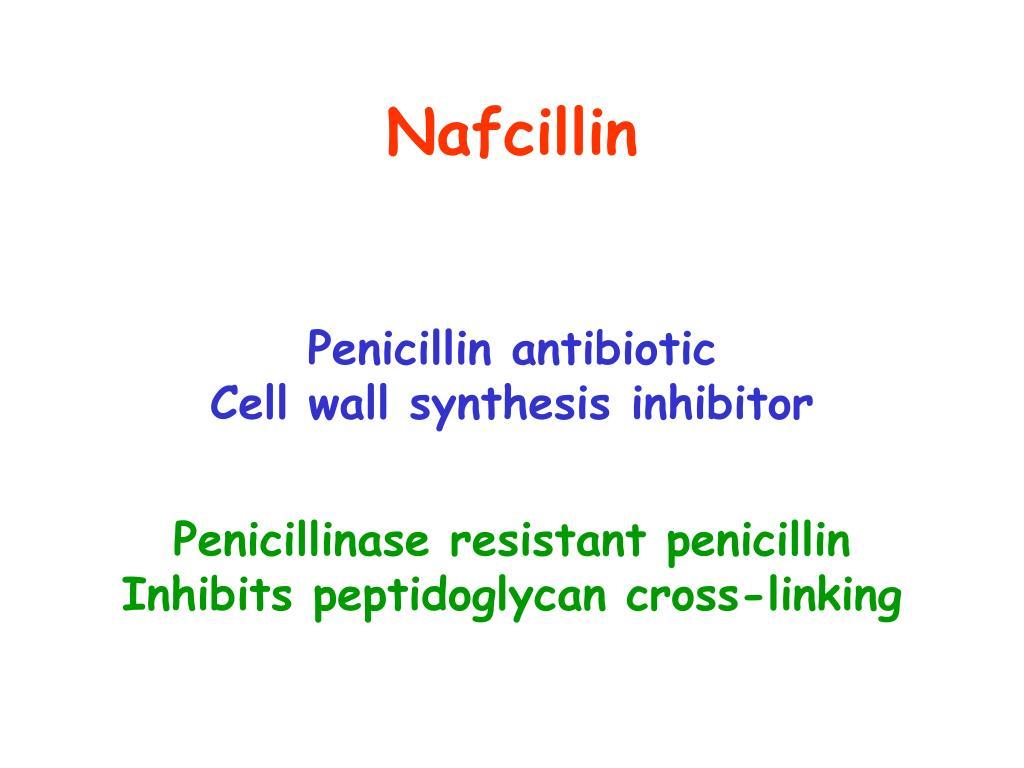 Nafcillin