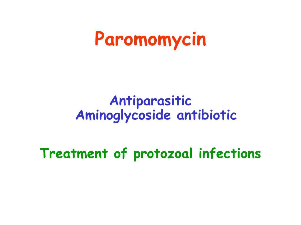 Paromomycin