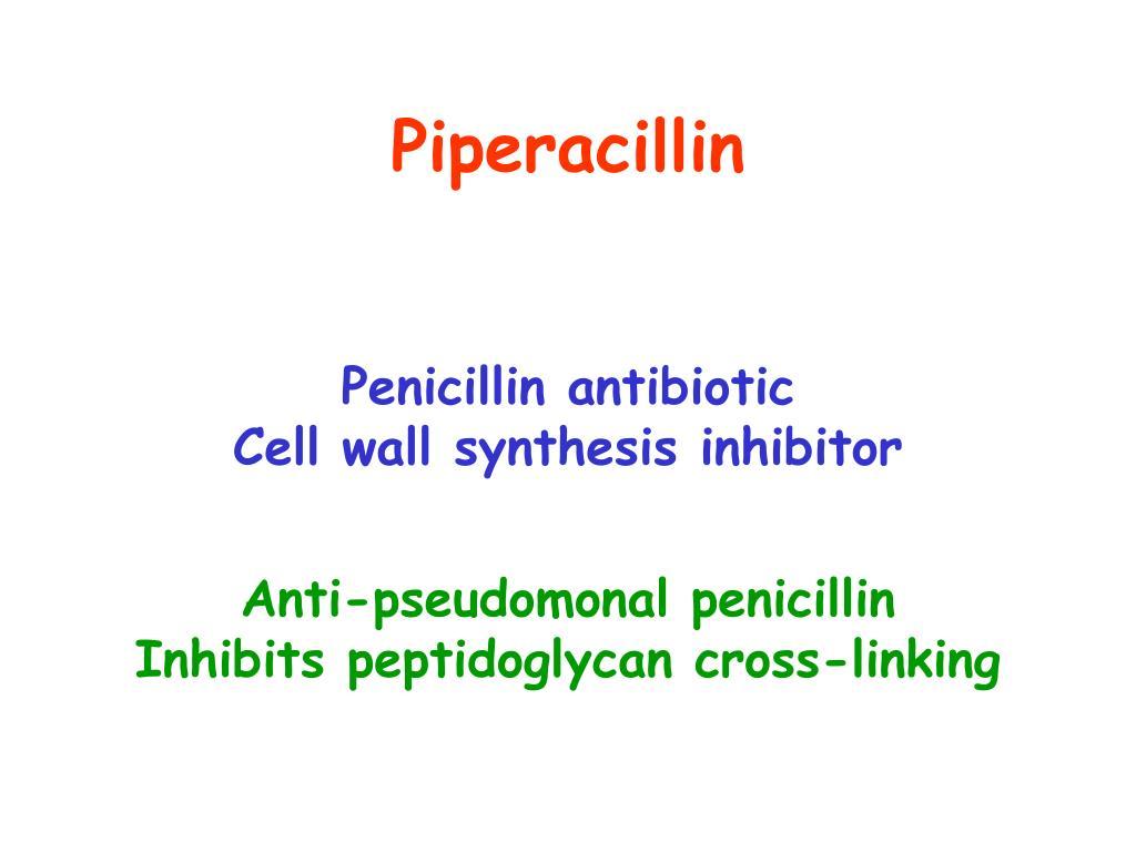 Piperacillin