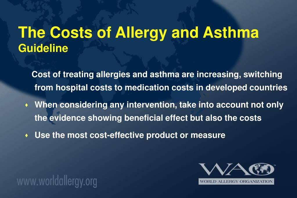 The Costs of Allergy and Asthma