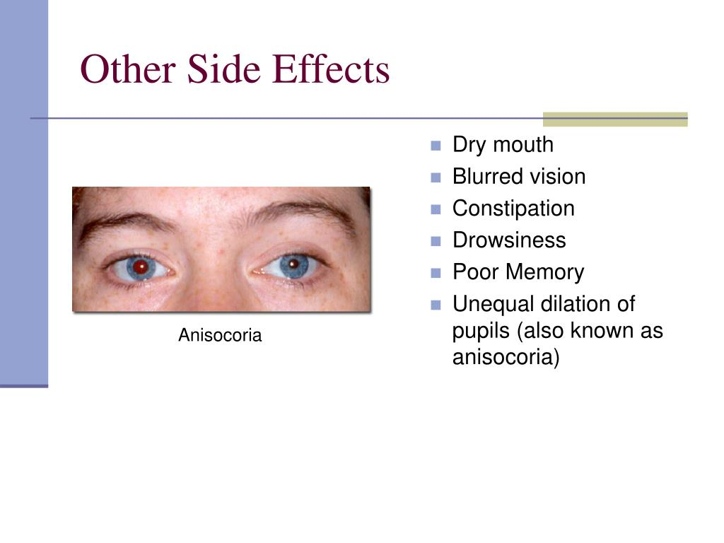 Other Side Effects