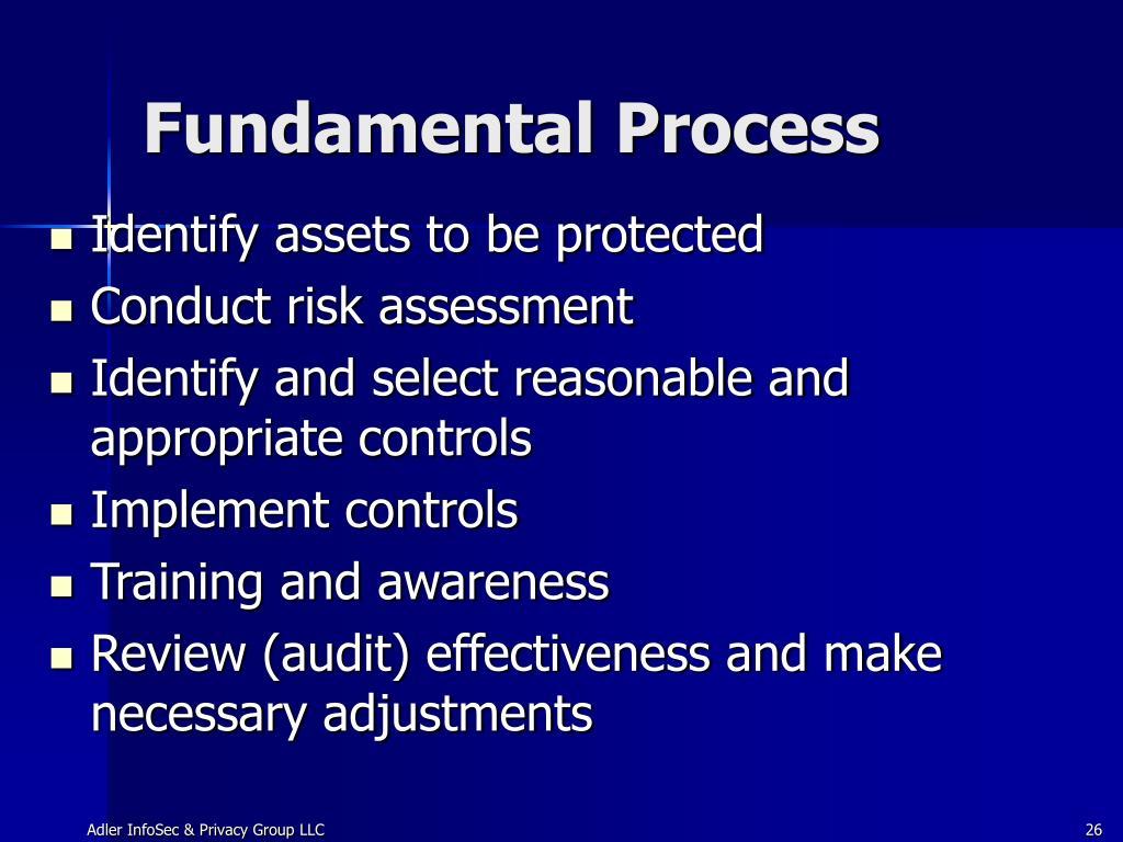 Fundamental Process