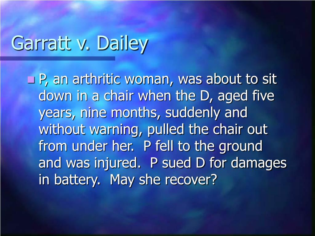 Garratt v. Dailey