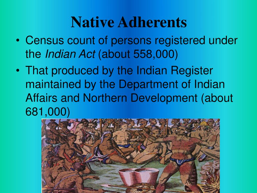 Native Adherents