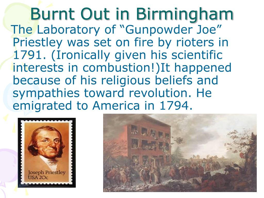 Burnt Out in Birmingham