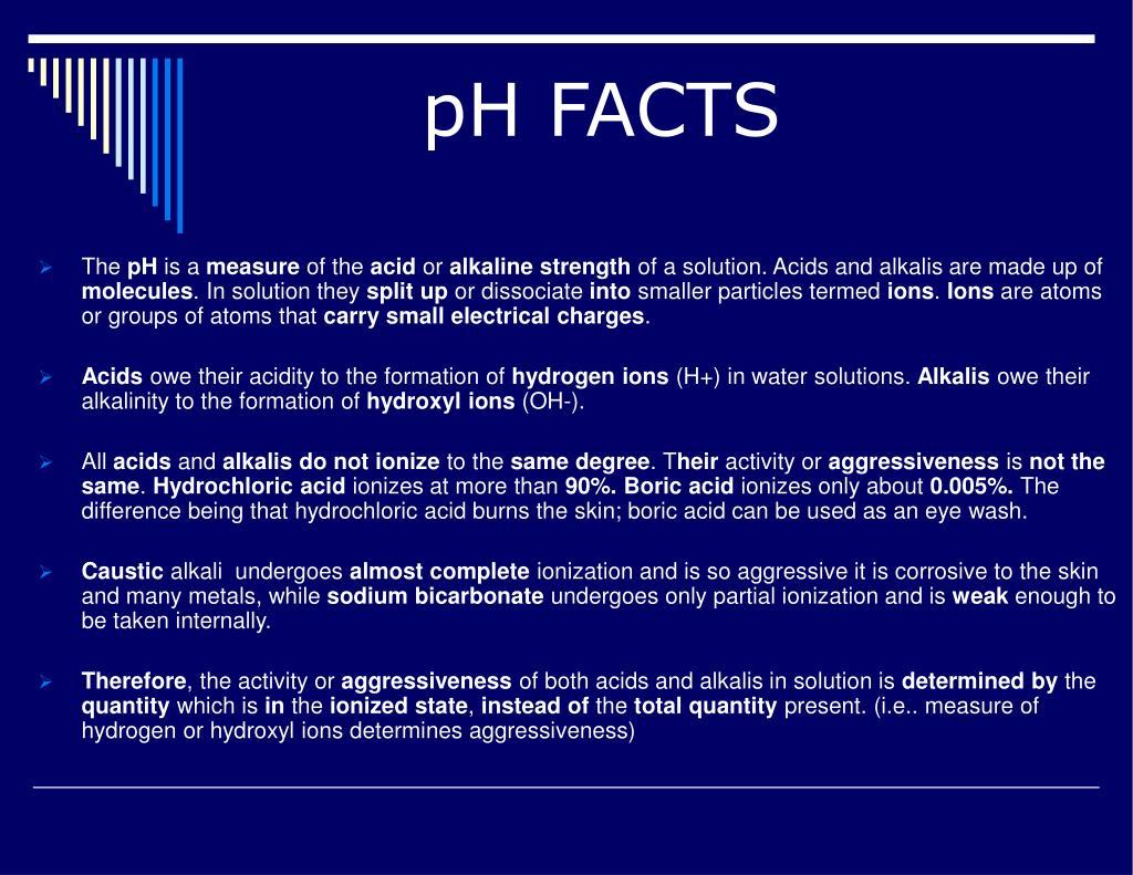 pH FACTS