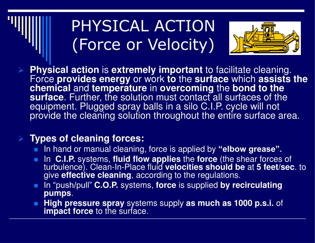 PHYSICAL ACTION