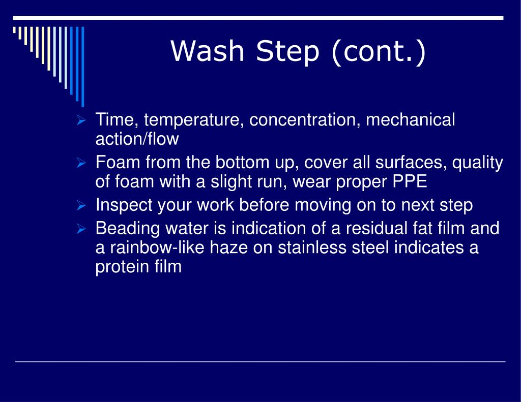 Wash Step (cont.)