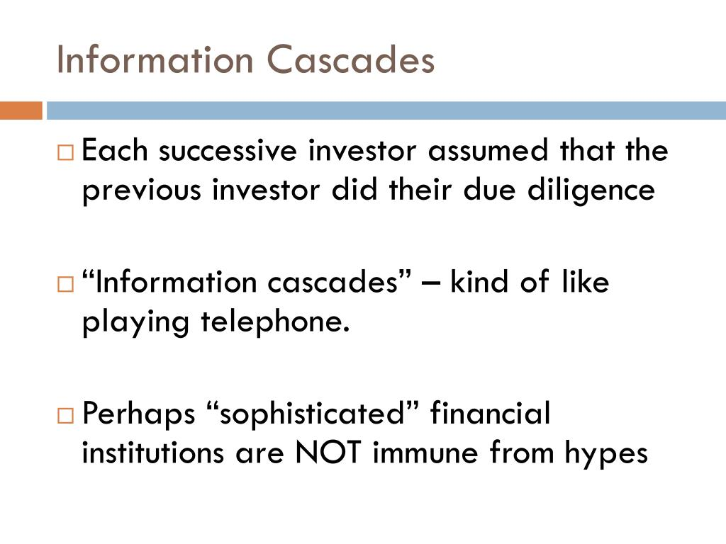 Information Cascades