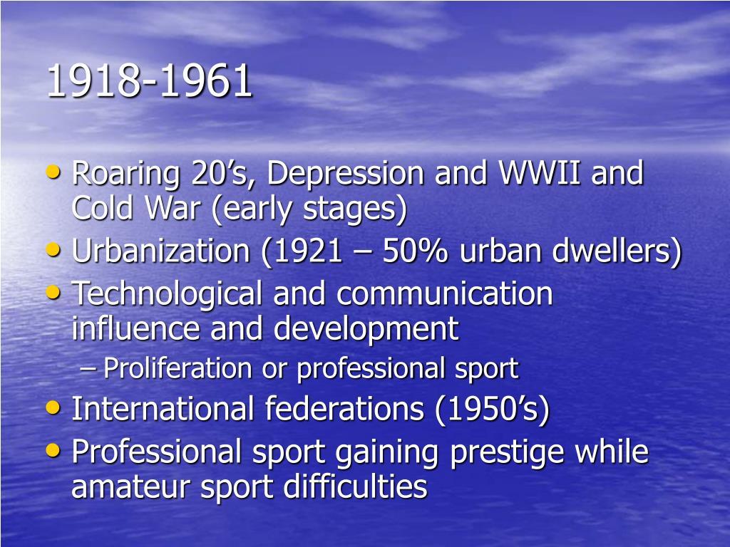 1918-1961