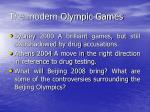 the modern olympic games13