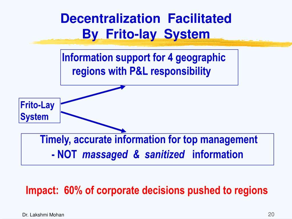 Decentralization  Facilitated